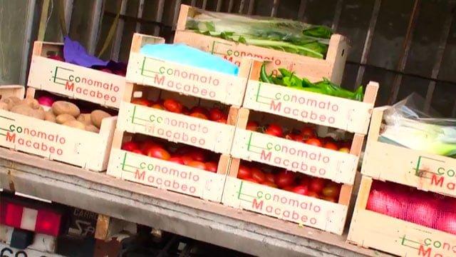 Ruta 179 · Macabeo, el supermercado ecológico de Moralzarzal.